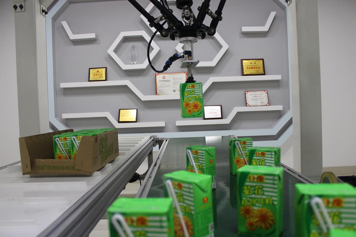 饮料-菊花茶装箱