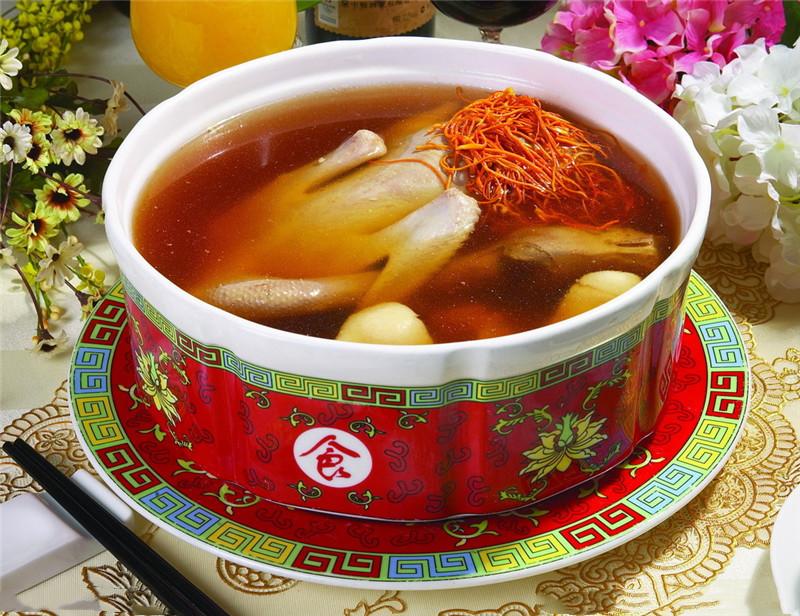 虫草花栗子煲鸡汤的家常做法