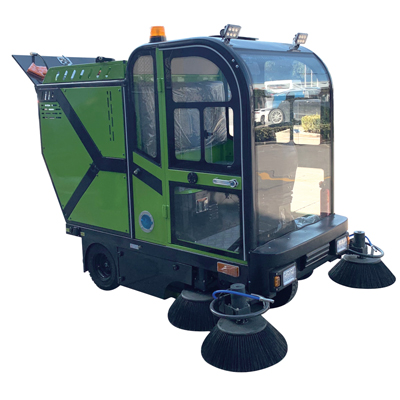 BN-2300五刷加大款电动三轮清扫车(可加装高压清洗汽油款或高压清洗电动款可加雾炮)