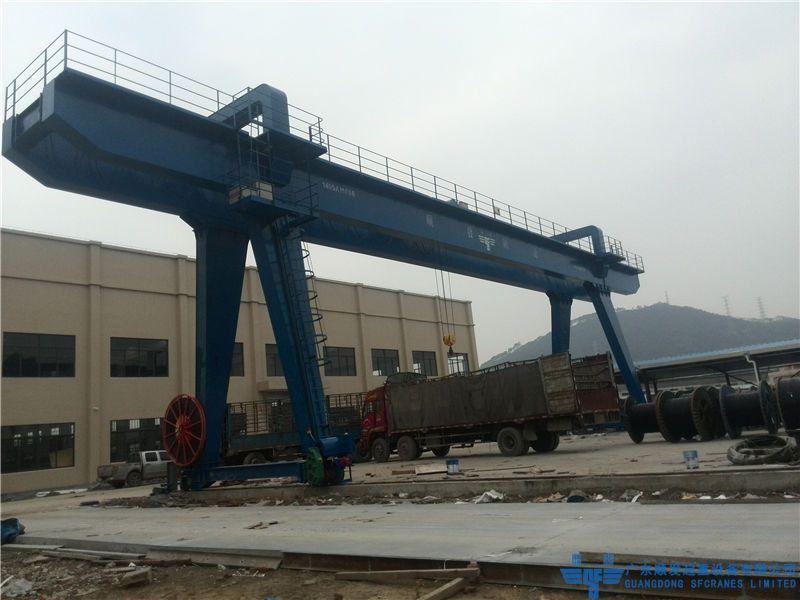 亞洲電器電纜科技有限公司-MHS型雙梁龍門吊