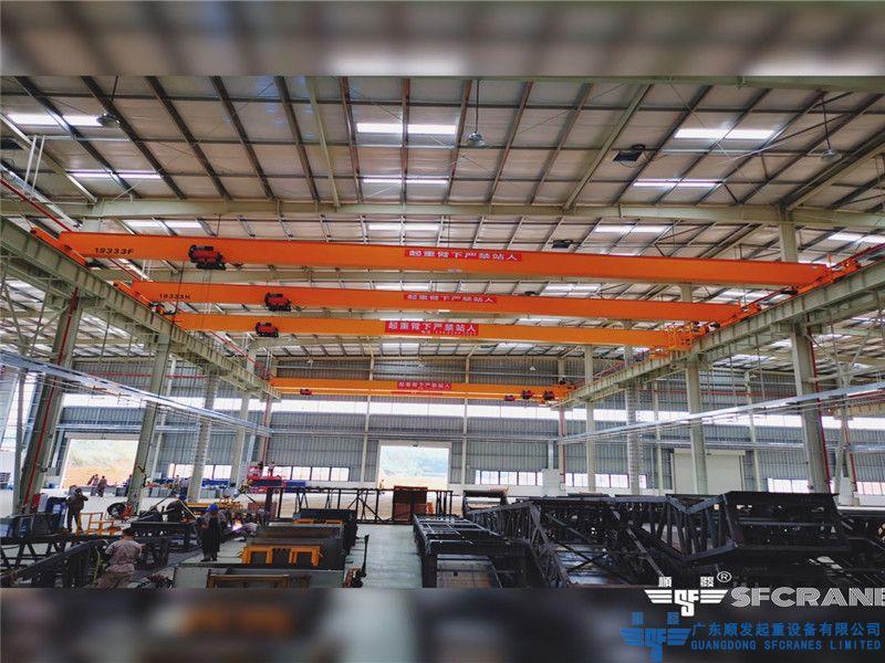 廣州通用集團-歐式單梁天車