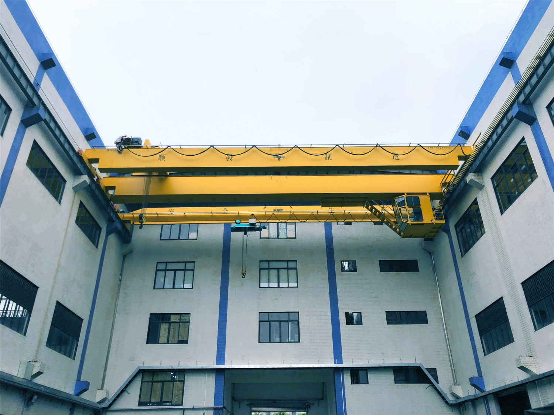 广东肯富来泵业有限公司-QDO型双梁天车+QE型双梁行车