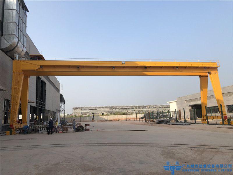 廣西南南鋁業-MHS型歐式龍門吊