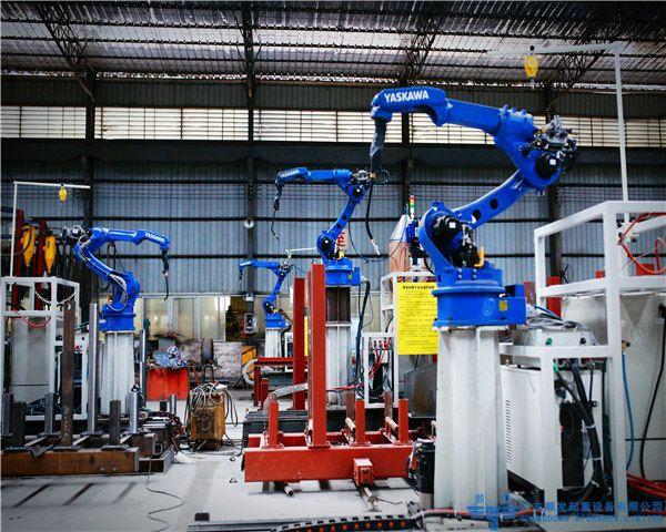 天车_行车_龙门吊_行吊生产机器人自动焊接系统-安川