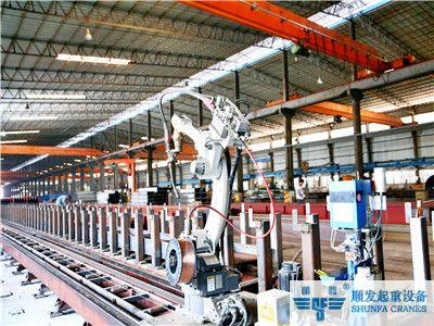 天车_行车_龙门吊_行吊生产机器人自动焊接系统-松下