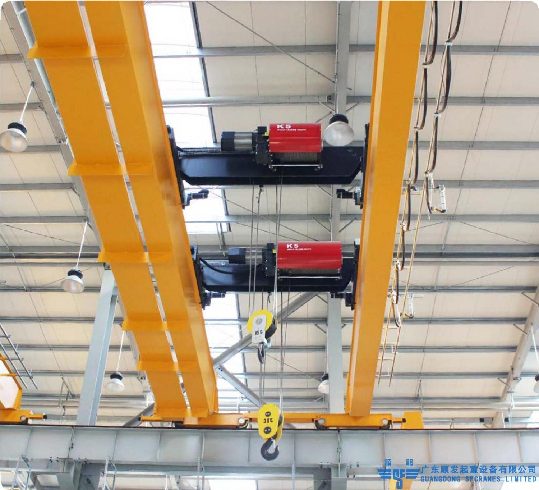 LHE型雙葫蘆雙梁天車、行車、行吊