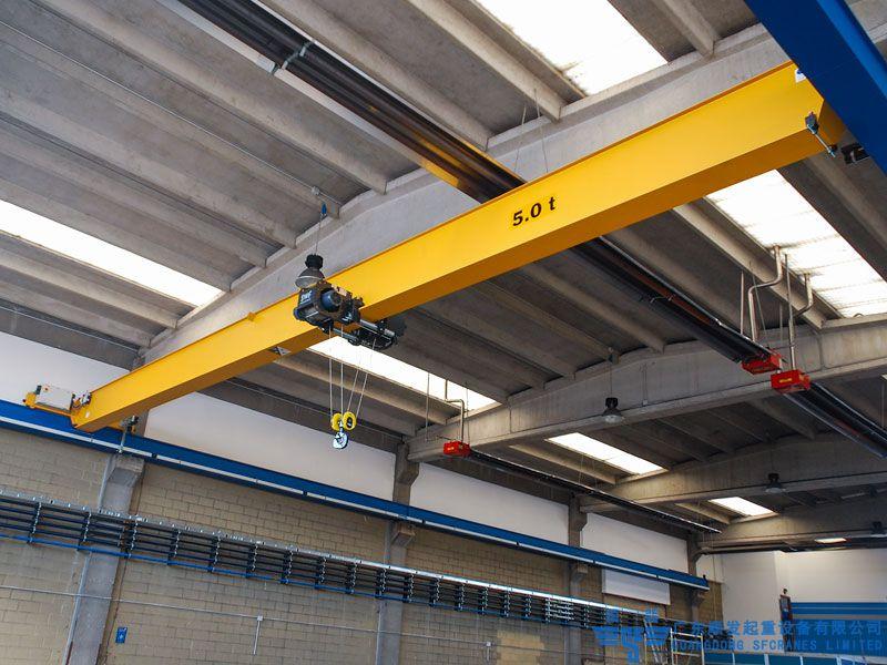 欧标系列标准化单梁欧式起重机