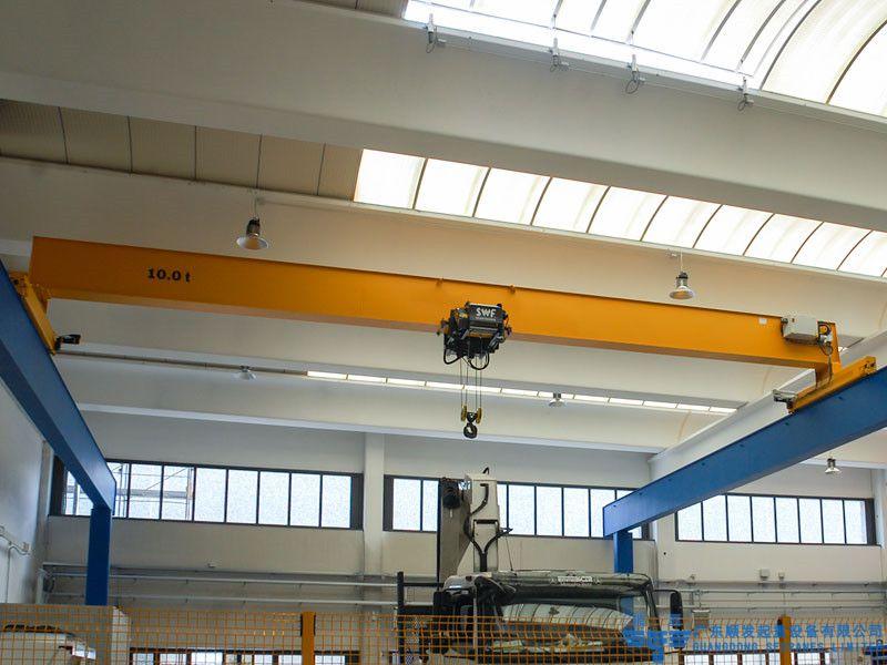 1t欧式单梁天车主要性能及技术参数