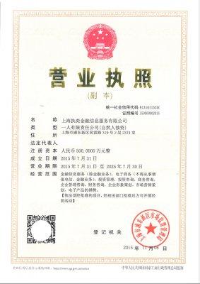 上海执奕金融信息服务有限公司