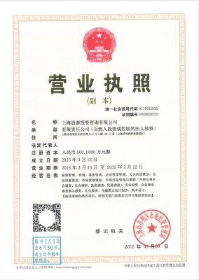 上海逍源投资咨询有限公司
