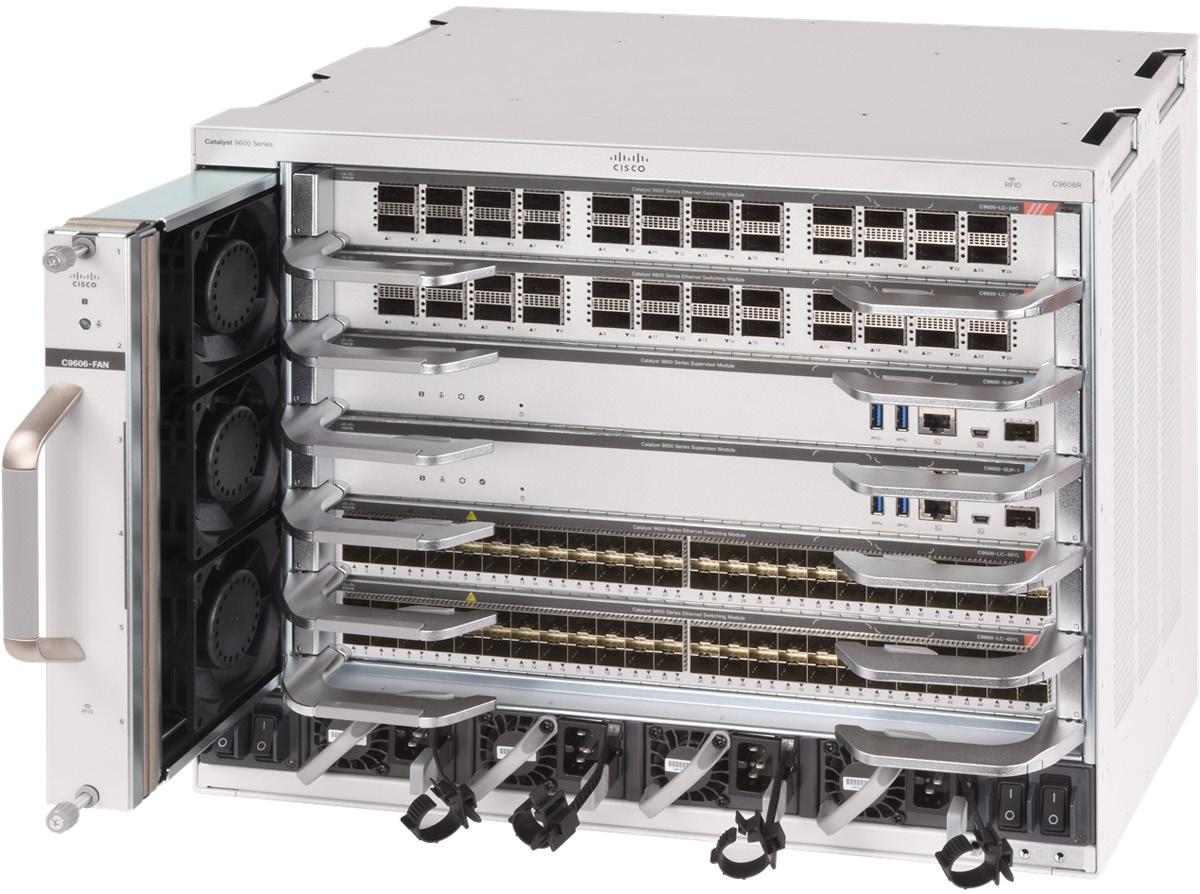 思科 Catalyst 9600 系列 园区核心层交换机