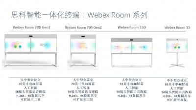 思科智能会议室一体化终端Webex Room系列