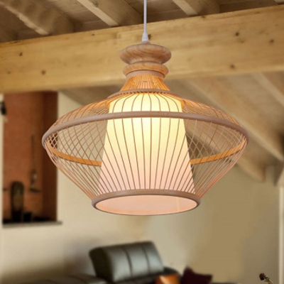 Modern Neutral Bamboo Pendant Lamp for hotal MD-Z006JR