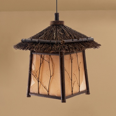 Bamboo pendant lamp pendant light MD-Z013JR