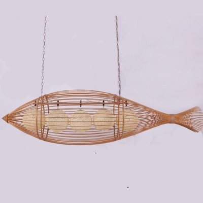 Bamboo pendant lamp pendant light for decoration MD-Z015JR