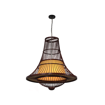 Natural bamboo pendant lamp MD-Z017JR