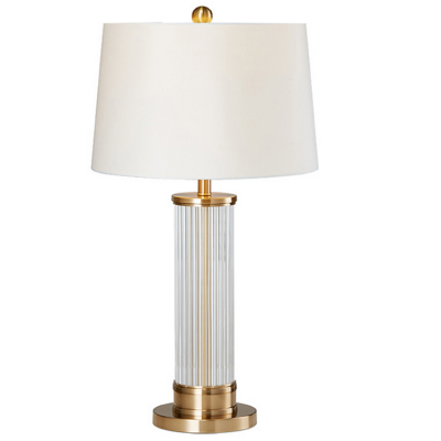 European Classical Luxury Led Table Lamp For Hotel Crystal Table Lamp