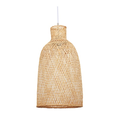 Modern Neutral Bamboo Pendant Lamp for Home Hotel OEM ODM MD-2Z020