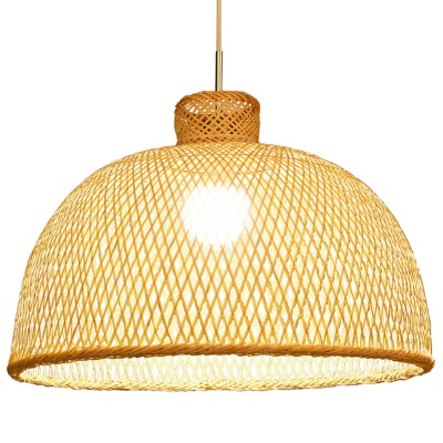 Chinese vintage Bamboo weaving bamboo nest antique Pendant Light MD-2Z021