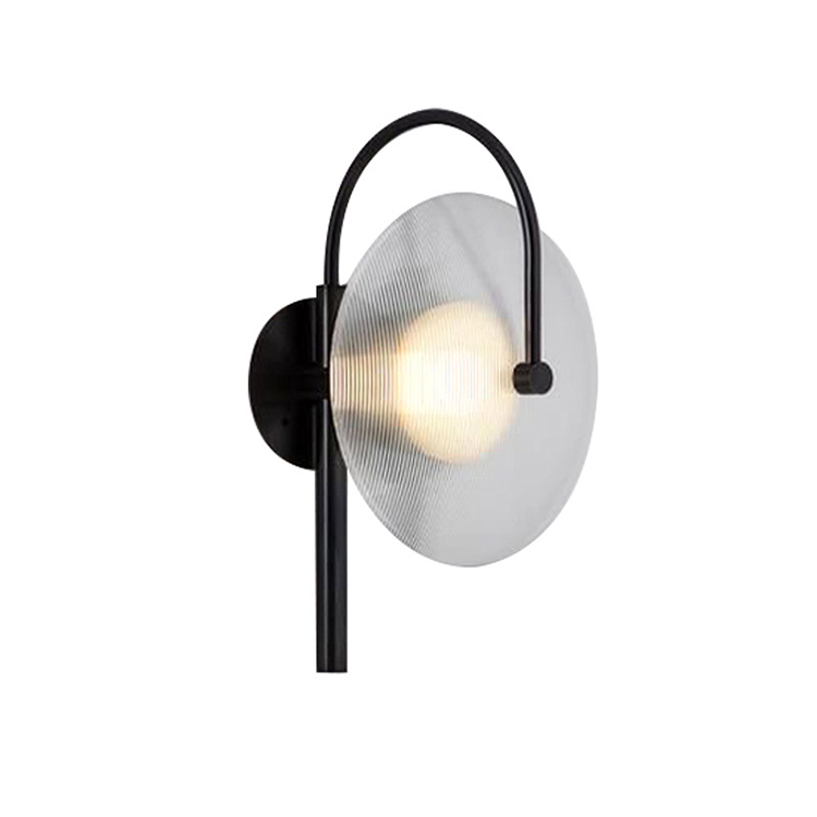 House Lighting Nordic Lamp Sconce Modern Glass Hotel Wall Light Indoor