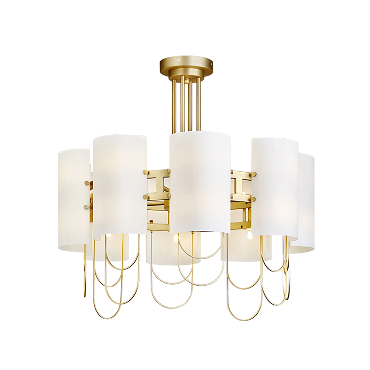 Wholesale Painting gold Metal Ceiling Modern Light
