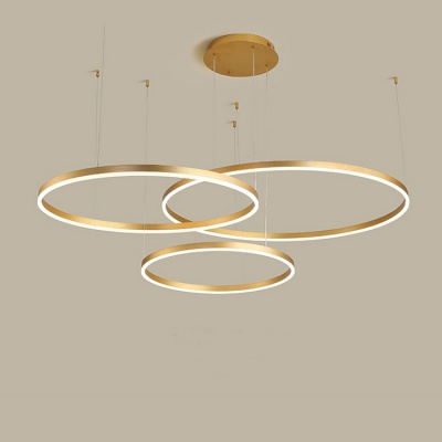 CE Certified NEW European Style White Black Brass Gold LED Ceiling Lamp for Living Room  MD-LY002