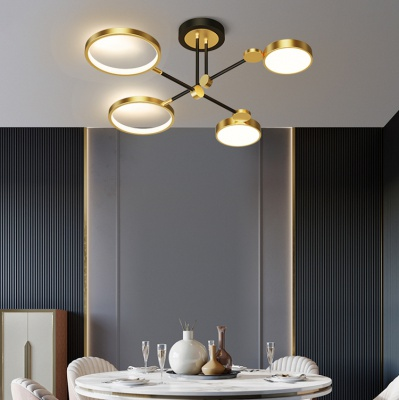 Modern simple living room lamp 2020 new atmospheric creative chandelier MD-LY011