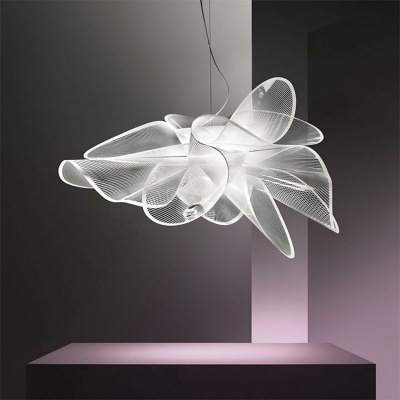 Modern hanging pendant lamp acrylic pendant light fixture for living room decor MD-LY012