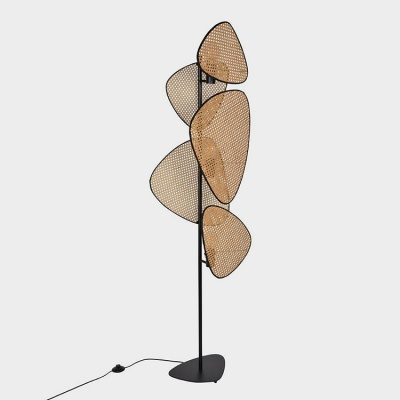 Hot sales Rattan Floor Lamp ML-3TR04