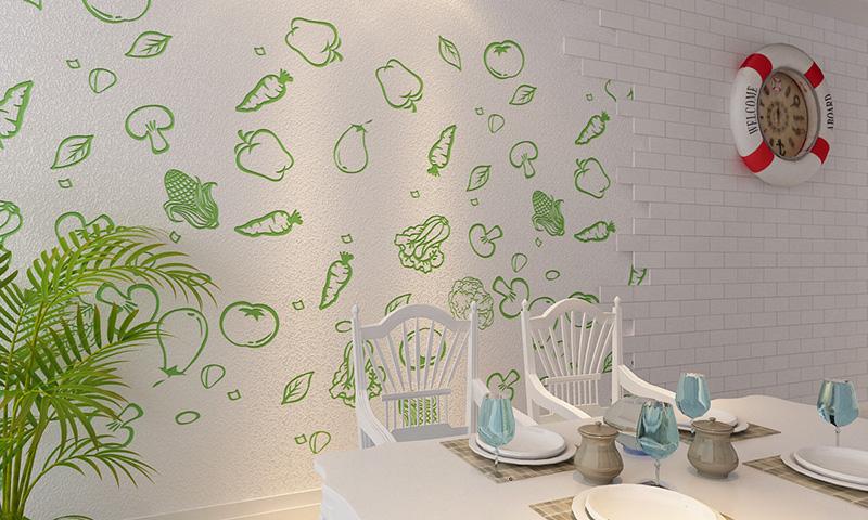 贝壳粉餐厅效果图