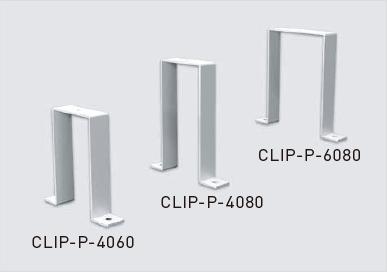 Recessed clip-P