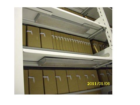 某档案馆采用我公司RFID系统实现自动盘点功能
