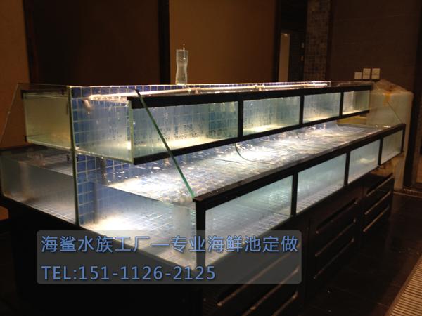 海鲨水族工厂介绍大型鱼缸定做的过滤设备