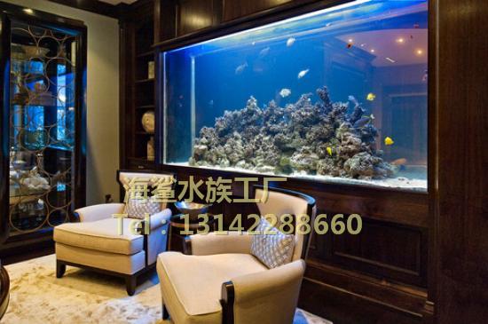 海鲨水族工厂介绍定做大型鱼缸中常见的锦鲤