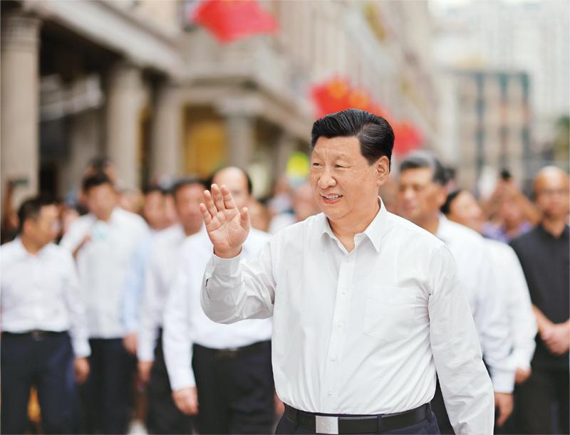 习近平:国家中长期经济社会发展战...
