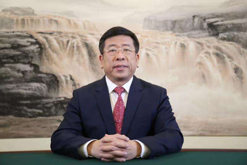 """任洪斌在香港第五届""""一带一路""""高..."""