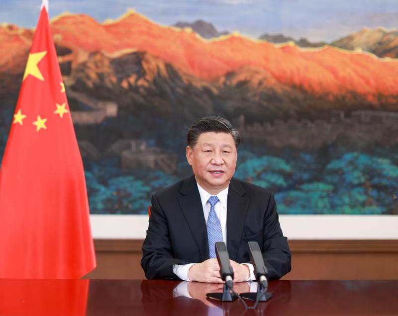 习近平在第十七届中国-东盟博览会...