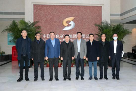 董长清总经理会见青海省副省长王黎...