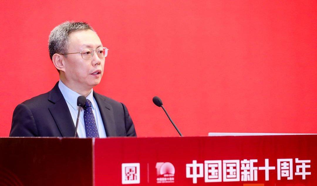袁野出席中国国新十周年成果汇报会...