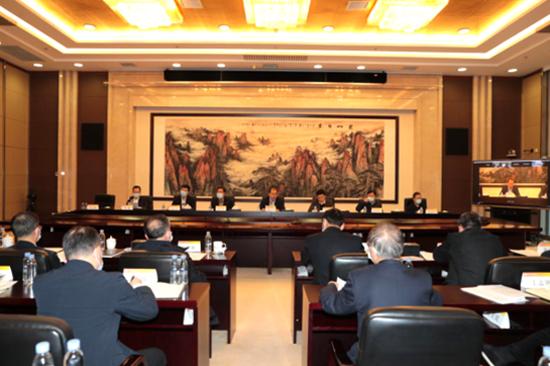 中国有色集团召开应对疫情工作领导...