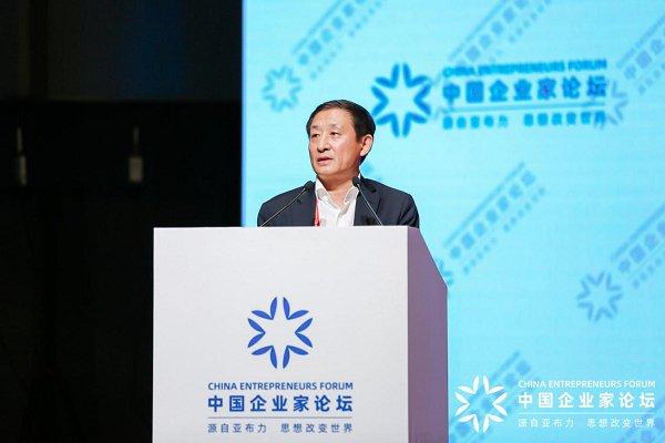 彭华岗出席第二十一届亚布力论坛年...