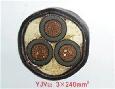 YJV22-15kV   3X240
