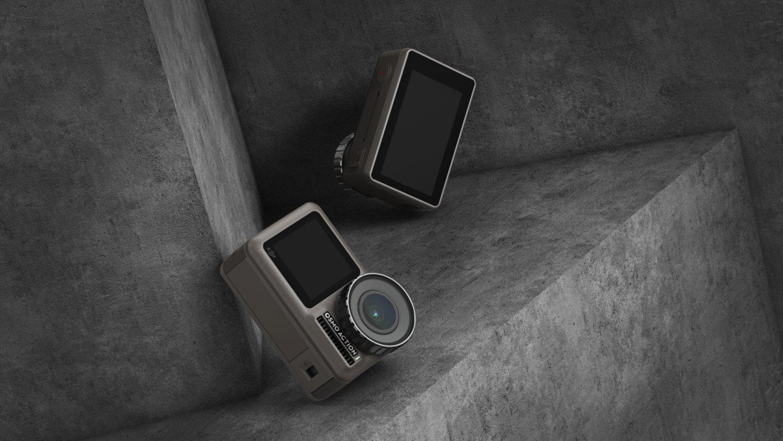 辽宁 大疆Osmo Action 灵眸运动相机前后双屏防抖防水 vlog摄像机