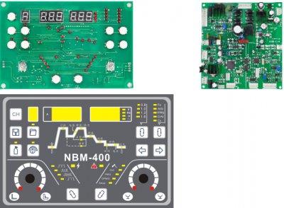 NBM500 multi-function pulse MIG control board