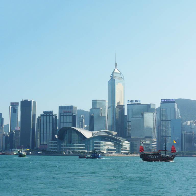 香港岛湾仔的秋季香港礼品展一期...