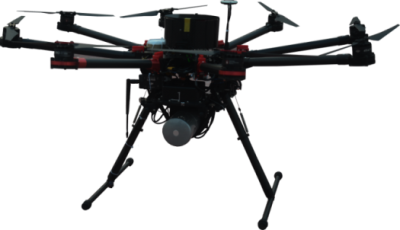 LiDAR Drone 無人機載激光雷達掃描系統