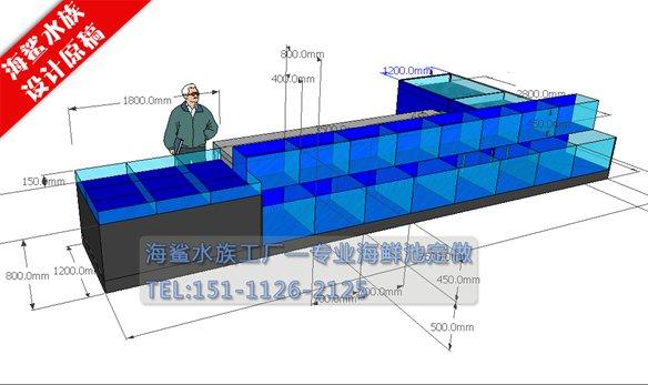 海鲨水族工厂介绍定做海鲜池中的红白锦鲤