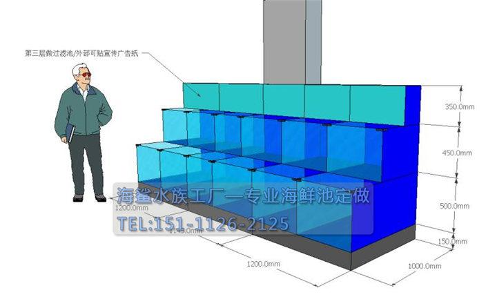 海鲨水族工厂介绍定做海鲜池