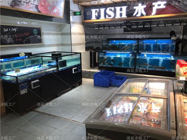 在定做海鲜鱼缸里养好水产要保持什...