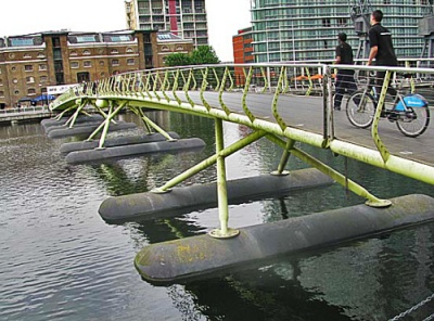 Floating bridge for human